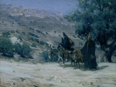 Flight into Egypt, 1899