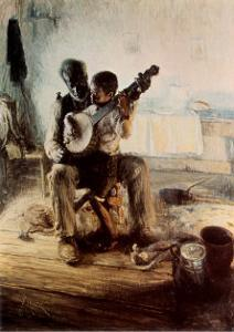 The Banjo Lesson by Henry Ossawa Tanner