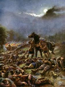 Sweyn's Poisoned Army, 1036 by Henry Payne
