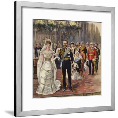 The Marriage of the Duke of Cornwall and York to Princess Mary