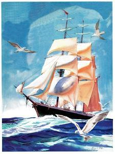 Clippership - Child Life by Henry Pitz