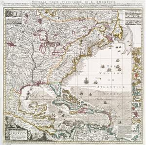 American colonial period artwork for sale posters and prints at art map of british empire 1733 gumiabroncs Choice Image