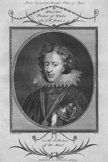 Henry, Prince of Wales, son of King James I, 1784--Giclee Print