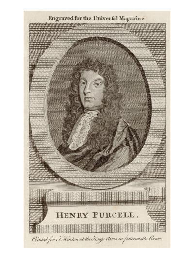 Henry Purcell English Composer--Giclee Print