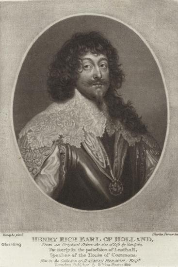 Henry Rich, Earl of Holland-Sir Anthony Van Dyck-Giclee Print
