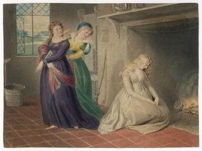 Cinderella by the Fireside is Taunted by Her Two Sisters Before Leaving for the Ball by Henry Richter