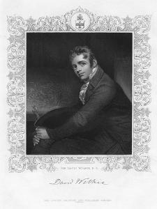 Sir David Wilkie (1785-184), Scottish Painter, 19th Century by Henry Robinson