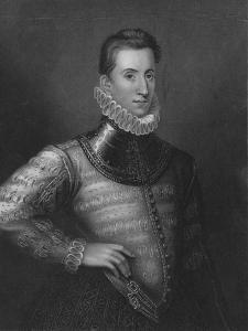 Sir Philip Sidney, 1838 by Henry Robinson