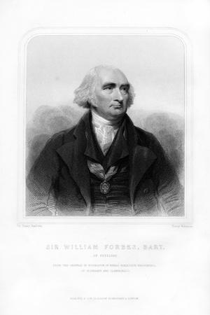 Sir William Forbes of Pitsligo, 6th Baronet, Scottish Banker