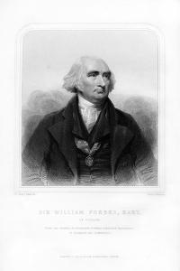 Sir William Forbes of Pitsligo, 6th Baronet, Scottish Banker by Henry Robinson