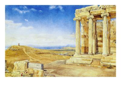 The Temple of Athena Nike, Acropolis, Athens, 1893