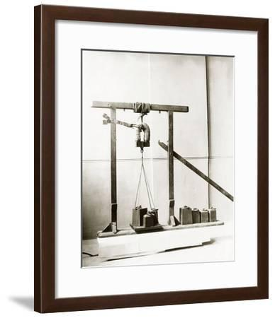 Henry's Electromagnetic Machine, 1831-Miriam and Ira Wallach-Framed Giclee Print