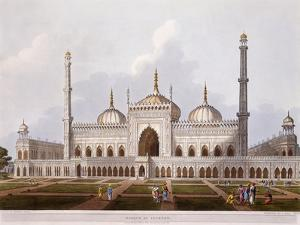 Mosque at Lucknow, 1824 by Henry Salt