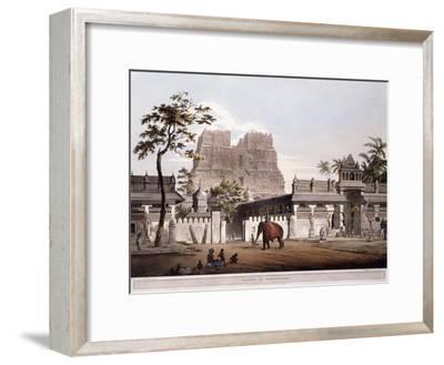 Pagoda at Ramisseram, 1803