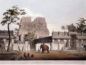 Pagoda at Ramisseram, 1803 by Henry Salt