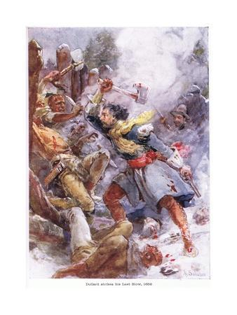 Dollard Strikes His Last Blow 1658, C.1920