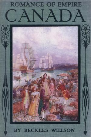 Front Cover of Romance of Canada, C.1920