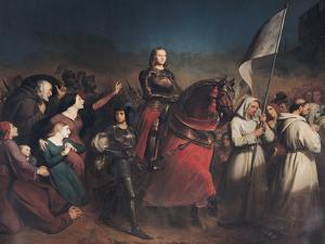 The Entry of Joan of Arc (1412-31) into Orleans, 8th May 1429, 1843 by Henry Scheffer