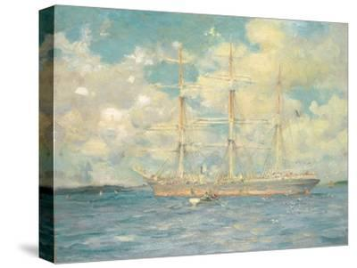 A French Barque in Falmouth Bay, 1902