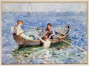 August Blue, circa 1911 by Henry Scott Tuke