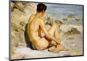Boy on a Beach, 1912 by Henry Scott Tuke