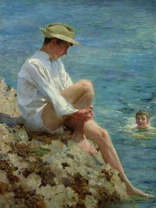 Boys Bathing, 1908 by Henry Scott Tuke