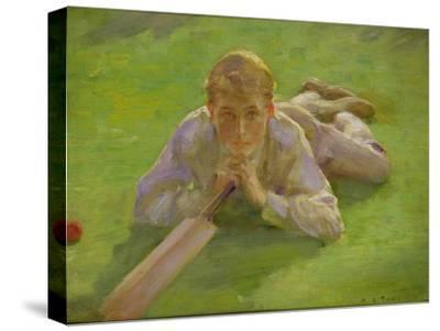 Henry Allen in Cricketing Whites