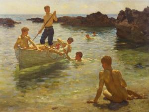Morning Splendour, 1922 by Henry Scott Tuke