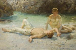 Noonday Heat, 1902-3 by Henry Scott Tuke