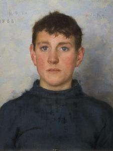 Portrait of Jack Rolling, 1888 by Henry Scott Tuke