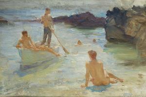 Study for Morning Splendour, c.1921 by Henry Scott Tuke