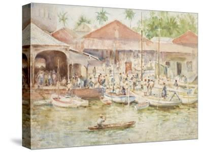 The Market, Belize, British Honduras, 1924