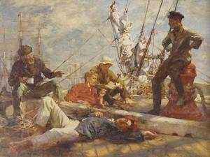 The Midday Rest, 1906 by Henry Scott Tuke