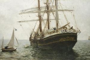 The Missionary Boat, 1894 by Henry Scott Tuke