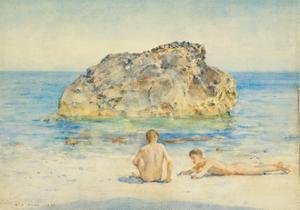 The Sunbathers, 1921 by Henry Scott Tuke