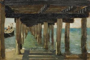 Under the Jetty by Henry Scott Tuke