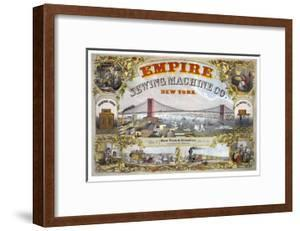 Empire Sewing Machine Company by Henry Seibert & Bros