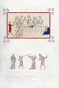 A Royal Repast, Early 14th Century by Henry Shaw