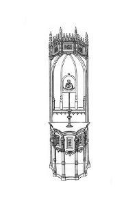 Altar, C15th Century by Henry Shaw