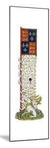 Banner of the Arms of England and France, Quartered, C1445 by Henry Shaw
