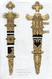 Dagger and Sword, Early 16th Century by Henry Shaw