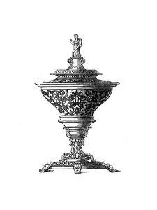Design for a Saltcellar, 1645 by Henry Shaw