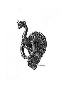 Doorknocker, Late 14th Century by Henry Shaw