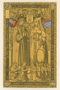 From a Brass, in the Church of St Mary Key Ipswich, 1525 by Henry Shaw
