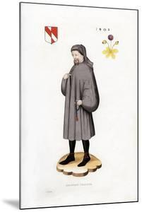 Geoffrey Chaucer, 1402 by Henry Shaw