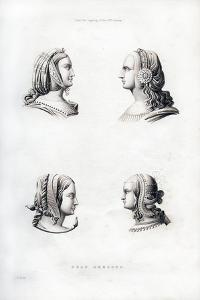 Headdresses, Early 16th Century by Henry Shaw