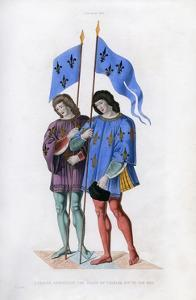 Heralds Announcing the Death of Charles VI to His Son, C1500 by Henry Shaw
