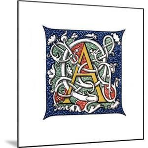 Initial Letter A by Henry Shaw