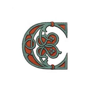 Initial Letter C, 1474 by Henry Shaw