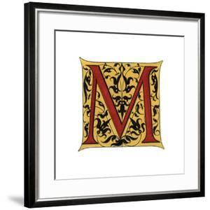 Initial Letter M by Henry Shaw
